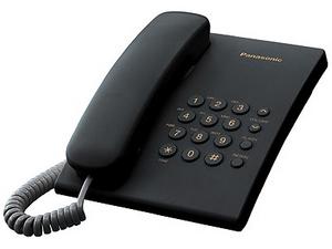 Panasonic KX-TS2350RUB Black телефон