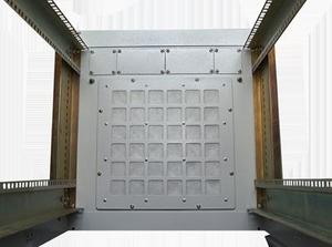 Фильтр в основание шкафа НТ Ф1 G серый
