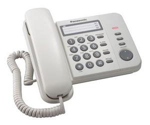 Panasonic KX-TS2352RUW White телефон