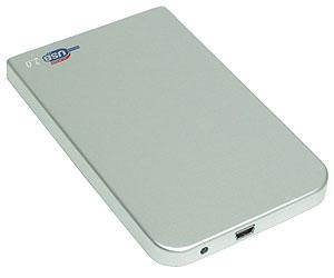"AgeStar SUB2O1-Silver (EXT BOX для внешнего подключения 2.5"" SATA HDD, USB2.0, Al)"