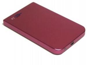 """AgeStar SUB2O1-Red (EXT BOX для внешнего подключения 2.5"""" SATA HDD, USB2.0, Al)"""