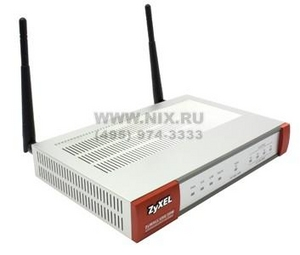 Zyxel ZyWALL USG 20W Unified Security Appliance (4port DMZ 10/100/1000 Mbps, 1WAN, 802.11b/g/n)