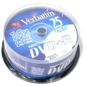 TDK DVD-R Disc TDK 4.7Gb 16x уп. 25 шт. на шпинделе