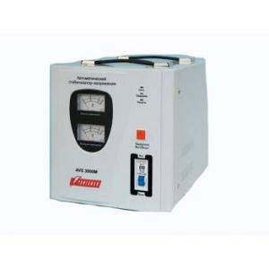 PowerMan Стабилизатор Powerman AVS 3000M (вх.140-260 В, вых.220 В ± 8%, 3000ВА, клеммы для подключения)