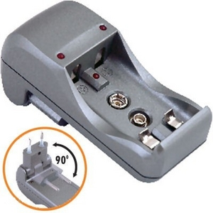 Зарядное устройство Camelion Mini Travel Charger BC-1001A (NiMh/NiCd, AA/AAA/9V)