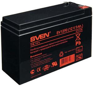 Sven Аккумулятор Sven SV1290 (12V, 9Ah) для UPS