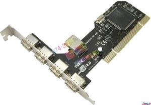 Orient NC-612 (RTL) PCI, USB2.0, 4 port-ext, 1 port-int