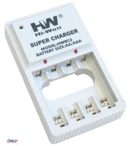 Зарядное уст-во Hi-Watt BC3 (NiMh/NiCd, AA/AAA) Hi-Watt.
