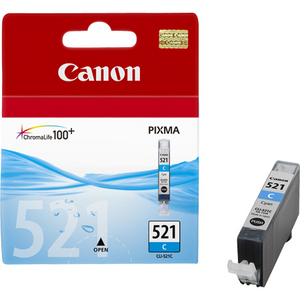 Canon Чернильница Canon CLI-521C Cyan для PIXMA IP3600/4600, MP540/620/630/980