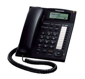 Panasonic KX-TS2388RUB Black телефон