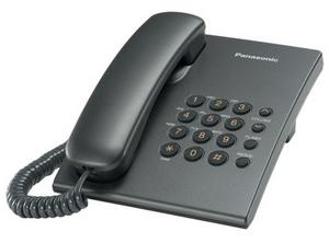 Panasonic KX-TS2350RUT Gray телефон