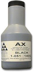 Тонер AQC/B&W AX (hp LJ 5L/ 6L/ 1100) 140гр.