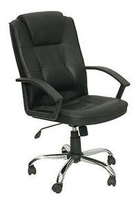 T-800AXSN Кресло руководителя (черная кожа)