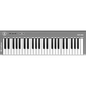 MIDI Клавиатура Axelvox 49J Gray (49 клавиш, 4 октавы)