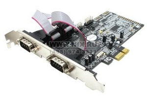 STLab I-343 (RTL) PCI-Ex1, Multi I/O, 4xCOM9M