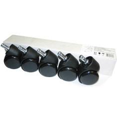 Набор колес для паркета/ламината (5 шт., D=50/38/11мм) CastorSet3850/PU
