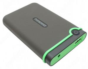 """Transcend StoreJet 25M3 TS500GSJ25M3 USB3.0 Portable 2.5"""" HDD 500Gb EXT (RTL)"""