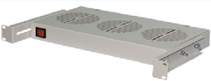 "Модуль вентиляторный 19"" НТ ВМ-3 G, серый, 1U, 3 вентилятора"