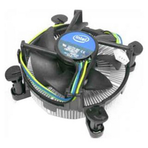 Intel Cooler for Socket 1156 (4-pin, Cu + Al) Low Profile