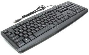 Honeywell Клавиатура Genius KB-110X Black USB 104КЛ, влагозащита
