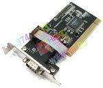 STLab I-212 (RTL) PCI, Multi I/O, 2xCOM9M LowProfile (для 1U system