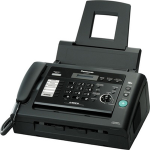 Panasonic KX-FL423RUB лазерный факс (A4, обыч. бумага, 10 стр./мин, ADF)
