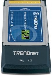Trendnet TEW-641PC Wireless N Cardbus PC Card (802.11n/b/g)
