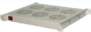 """Модуль вентиляторный 19"""" НТ ВМ-6 G, серый, 1U, 6 вентиляторов"""