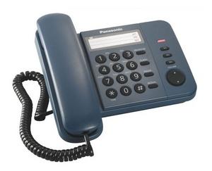 Panasonic KX-TS2352RUC Blue телефон