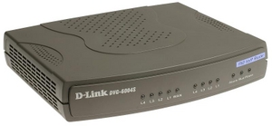 D-Link DVG-6004S VoIP Gateway + Router с поддержкой SIP (4UTP 10/100 Mbps, 1WAN, 4XFXO)