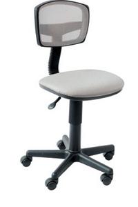 CH-299/G/15-48 Кресло (спинка серая сетка, сиденье серое)