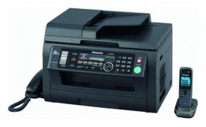 Panasonic KX-MB2061RU-B Black (A4, 24 стр./мин., 32Mb, лазерное МФУ, факс, трубка + р/трубка, ADF, USB2.0, сетевой)