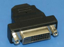 Переходник Orient HDMI 19F --> DVI-D 25F