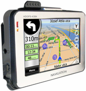 GPS навигатор Hyundai HDGPS-430H (MP3 плеер, 4.3