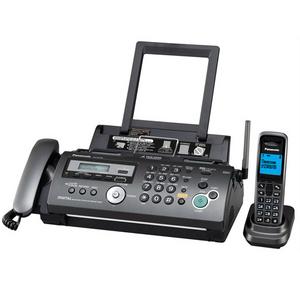 Panasonic KX-FC278RUT Titanium факс (A4, обыч. бумага, трубка с ЖК диспл., DECT, А/Отв)