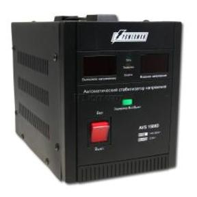 PowerCom Стабилизатор Powerman AVS 2000D Black (вх.140-260 В, вых.220 В ±8%, 2000ВА, 1 розетка Euro)