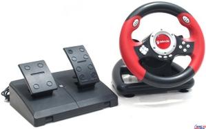 Defender Руль Defender Challenge Mini (Руль, педали, 8поз.перекл., 8кн., USB) 64351