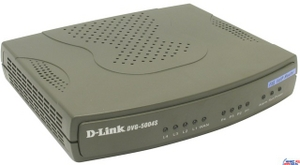 D-Link DVG-5004S VoIP Gateway + Router с поддержкой SIP (4UTP 10/100 Mbps, 1WAN, 4RJ11 Phone ports)