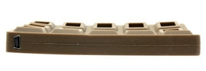 "AgeStar SUB2A9 (-5)-Chokolade (EXT BOX для внешнего подключения 2.5"" SATA HDD, USB2.0, силикон)"