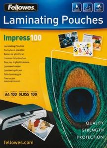 Fellowes 53510 Пакеты для ламинирования (A5, 100мкм, Gloss, уп. 100 шт)