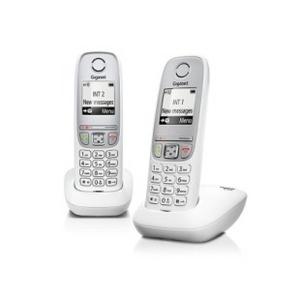 Siemens Р/телефон Gigaset A415 White (трубка с ЖК диспл.,База) стандарт-DECT, РО, ГТ