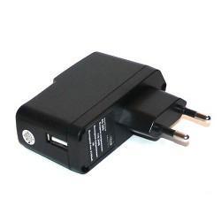 Зарядное уст-во KS-is Vooxer KS-205 USB от от электр.сети (Вх. AC110-240V, Вых. DC5.0V, 2100mA)+3 сменных разъема
