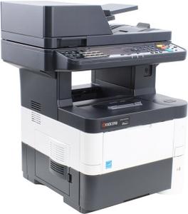 Kyocera Ecosys M3040dn (A4, 512Mb, LCD, 40стр/мин, лазерное МФУ, USB2.0, сетевой, DADF, двуст.печать)