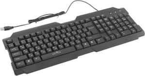 Oklick Клавиатура OKLICK 192M Black USB 107КЛ 945663