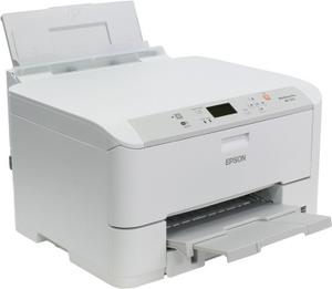 Epson WorkForce Pro WF-5110DW (A4, 34 стр/мин, 4800x1200dpi, 4 краски, USB2.0,WiFi, сетевой, двусторонняя печать)