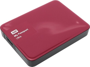 "Western Digital WD WDBNFV0030BBY-EEUE My Passport Ultra USB3.0 Drive 3Tb Red 2.5"" EXT (RTL)"