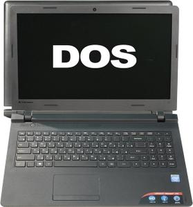 """Lenovo IdeaPad 100-15IBY 80MJ0053RK Cel N2840/2/500/DVD-RW/WiFi/DOS/15.6""""/1.94 кг"""