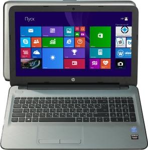 """Hewlett-Packard hp 15-ac013ur N0J85EA#ACB i3 4005U/6/500/DVD-RW/R5M330/WiFi/BT/Win8/15.6""""/2.17 кг"""
