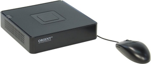 Orient NVR-8204POE (4 IP-cam PoE, 1xSATA, LAN, 2xUSB2.0, VGA, HDMI)