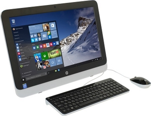 hp 22-3100ur All-in-One N8W38EA#ACB Cel G1840T/4/500/DVD-RW/WiFi/Win10/21.5""